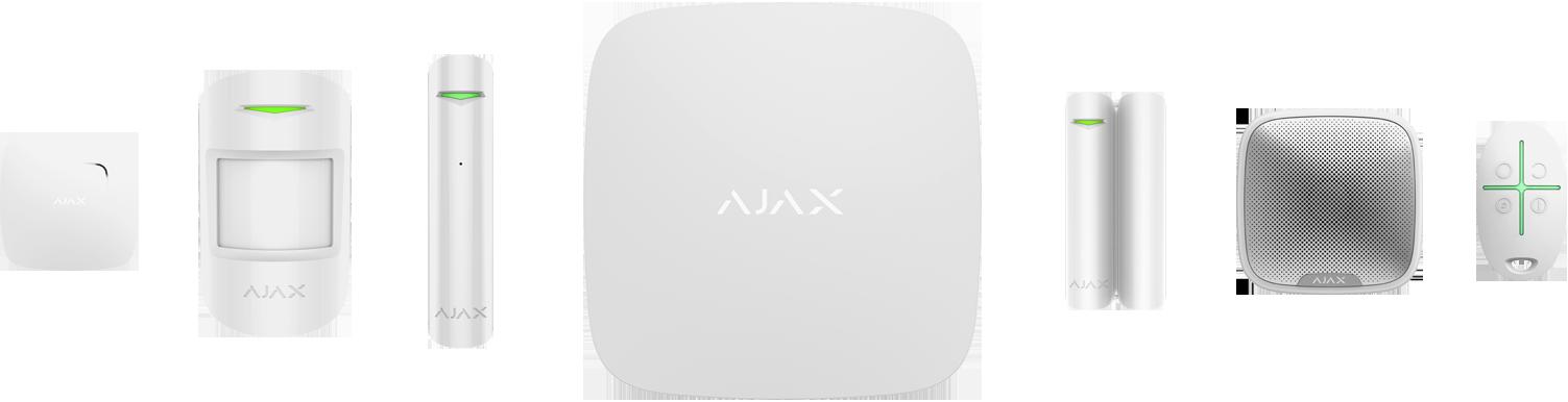 Ajax Componentes Blanco